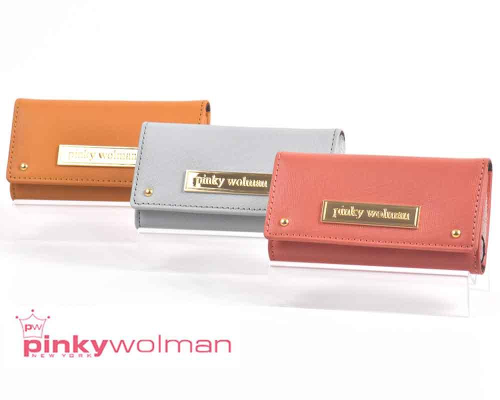あす楽!送料無料!(北海道・沖縄県除く) ピンキーウォルマン pinkywolman スイートシリーズ SWEET キーケース 84033 全3色 レディース 本革 スウィート