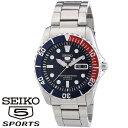 [あす楽] SEIKO セイコー5 スポーツ 5 SPORTS 自動巻き メンズ腕時計 SNZF15J1 [海外モデル][メンズウォッチ][ファイ…