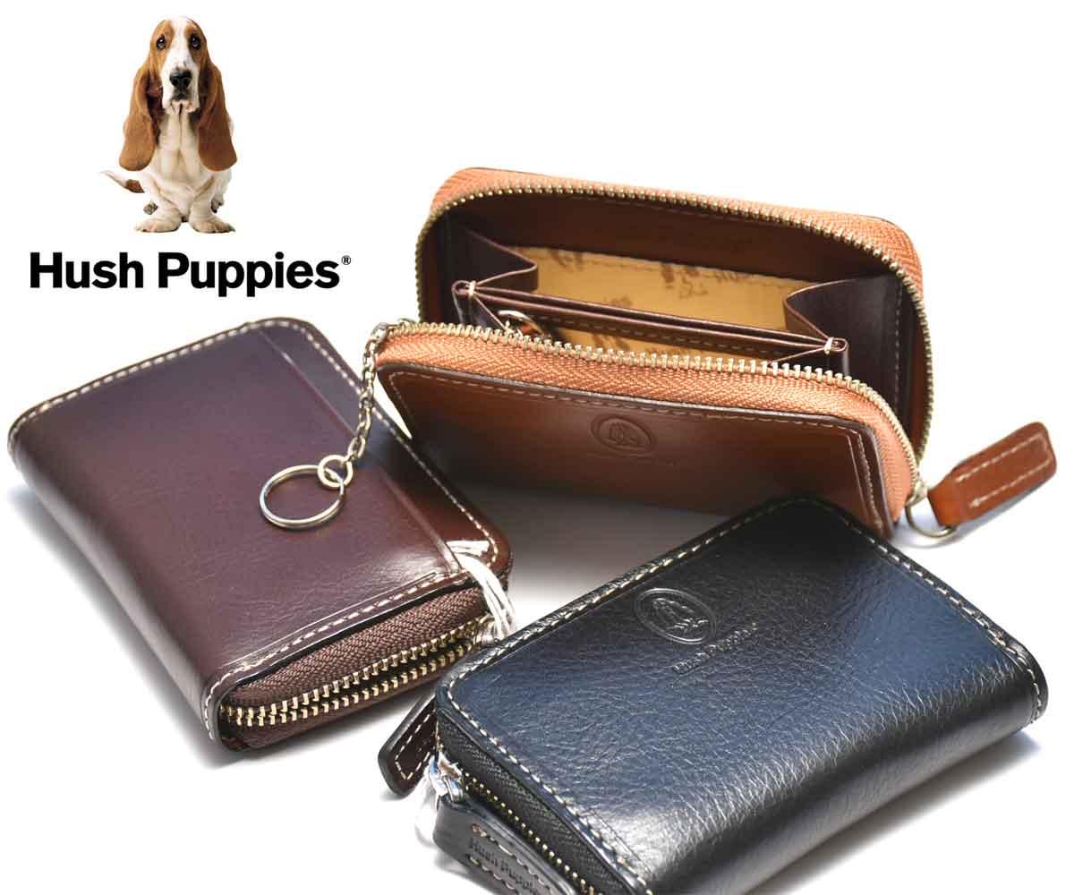 あす楽!!送料無料!(北海道・沖縄除く) Hush Puppies (ハッシュパピー) 小銭入れ コインケース HP0342 全3色 牛革 マゴシリーズ メンズ レディース