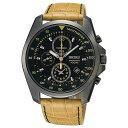 セイコー SEIKO クロノグラフ 腕時計 SNDD69P1 キャメル メンズ腕時計 [海外モデル][メンズウォッチ]
