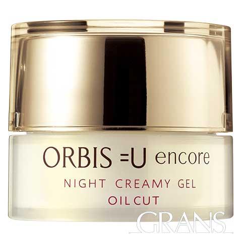 ORBIS オルビスユー アンコール ナイトクリーミージェルボトル入り [本体] 30g <夜用保湿液>