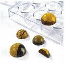 チョコレート型martellato【MA5000半球スフェリ丸3cm】ポリカーボネイト製(ハードプラスチック)ボンボンショコラ型…