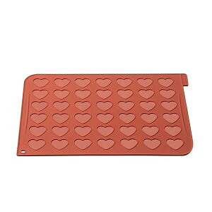 シリコン型 外寸400×300サイズ HEART MACARONS マカロンシート ハート シリコマート silikomart mac03