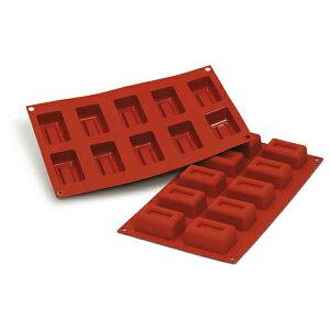 シリコン型MEDIUM LINGOTTO 6cm長角10取silikomart (オーブン冷凍兼用)SF091