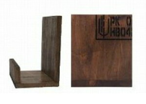 オールドパインブックエンド S おしゃれ 木製 ブックスタンド ブックエンド 本立て 本棚 子ども 子供 こども 部屋 キッズ 収納 アンティーク風 ブックスタンド ブックエンド 卓上 本立て 本
