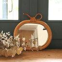 アップルミラー ミラ 鏡 りんご リンゴ ユグラ アップルクレエ JUGLAS 91910006 アンティーク風 Creer おしゃれ かわ…