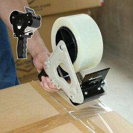 ガムテープ パッキングテープ ガン ダルトン DULTON ブラック グレー H20-0137 テープディスペンサー おしゃれ デザイン テープ台 テープカッター テープ テープ台