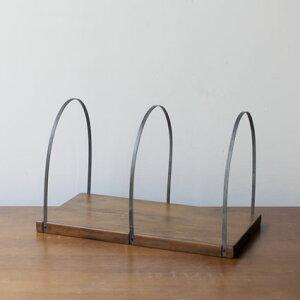 アクシス アンティーク風 ブックスタンド おしゃれ 木製 アイアン ブックエンド 本立て 本棚 卓上 ブックスタンド ブックエンド 本立て 本棚 子ども 子供 こども 部屋 キッズ 収納
