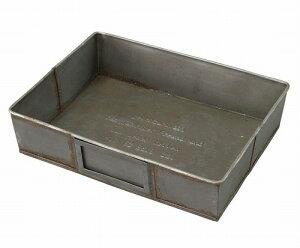 ゲシュマック トレイ GESHMACK GFA622L ブリキ ツールボックス 工具入れ 工具箱 ペンケース ステーショナリーボックス 小物入れ 小物収納 収納ボックス 卓上小物入れ ガレージ かわいい おしゃれ
