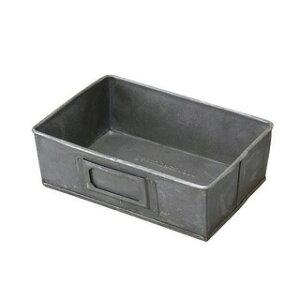 ゲシュマック トレイ S GESHMACK TRAY S GFA622S ブリキ ツールボックス 工具入れ 工具箱 ペンケース ステーショナリーボックス 小物入れ 小物収納 収納ボックス 卓上小物入れ ガレージ かわいい お