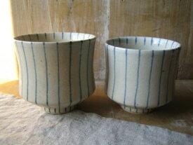 スタジオエム(スタジオM) 内外十草/湯呑み/ S Lサイズ 湯のみ 茶碗 湯呑み 陶器