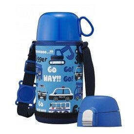 ドウシシャ マグボトル 0.45L ブルーふわふわAir 2WAYこども水筒 DBKS450BL 子供用 直飲み ステンレス水筒 携帯タンブラー 【マグボトル 水筒 保冷 ステンレスマグ ステンレスマグボトル ステンレスボトル】【あす楽対応】
