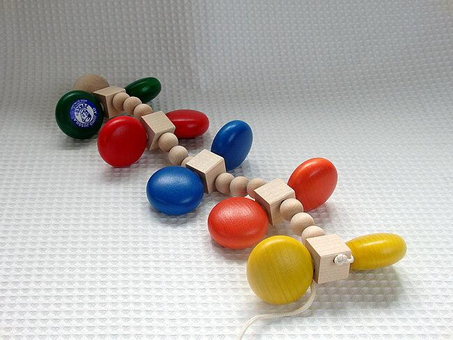 【送料無料】カラーむかで カラームカデ ユシラ社JUSSILA 木のおもちゃ 木製 知育玩具 出産祝い お誕生日 積み木 人気 プルトイ プルトーイ