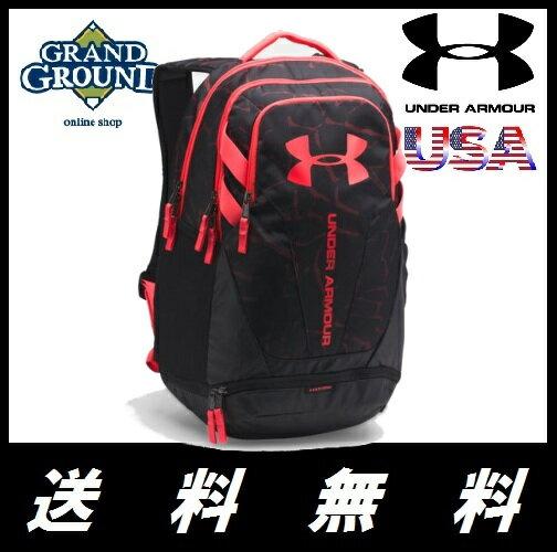 【海外限定】【送料無料】アンダーアーマー ハッスル 3.0 バックパック 野球 リュックサック Under Armour UA Hustle 3.0 Backpack