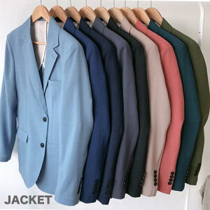9color テーラードジャケット、リネンジャケット メンズ 綿麻 ジャケット サマージャケット 春 夏 新作 カジュアルジャケット 春夏 無地 ビジネスアウター