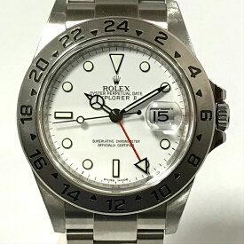 ロレックス ROLEX エクスプローラー2 EX216570 白文字盤 メンズ スポーツモデル 腕時計 自動巻 SSランダム 最終品番 OH仕上げ済【中古】Aランク 美品