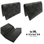 COACH/コーチカードケースメンズカードケース新作シグネチャービジネスカードケースF12025