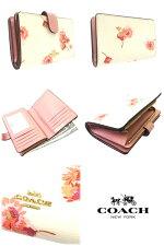 コーチCOACH財布長財布フローラルプリント花柄二つ折り財布F87752
