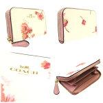 コーチCOACH財布フローラルプリント花柄コインケースF87796