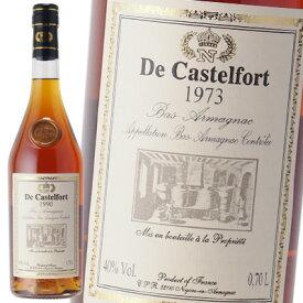ド カステルフォール 1973 40% 700ml アルマニャック ブランデー