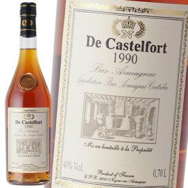 ド カステルフォール 1990 40% 700ml アルマニャック ブランデー