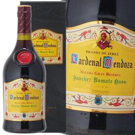 カーディナル メンドーサ ソレラ グラン レゼルバ 40% 700ml サンチェス ロマテ ブランデー 箱入