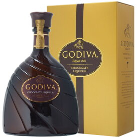 ゴディバ チョコレート リキュール 15% 750ml 箱入り