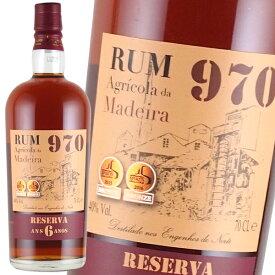 ラム酒 ファリア・イ・フィロス マディラ ラム 970 6年 40% 700ml