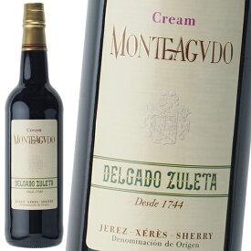シェリー酒 デルガド スレタ クリーム モンテアグード 甘口 18.5% 750ml スペイン