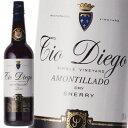 シェリー酒 バルデスピノ ティオ・ディエゴ アモンティリャード 16年 18% 750ml 辛口 スペイン
