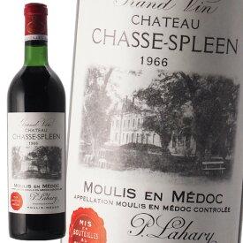 シャトー シャス スプリーン 1966 赤ワイン