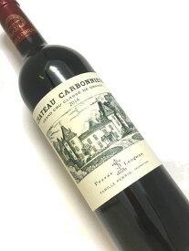 2014年 シャトー カルボニュー ルージュ 750ml フランス ボルドー 赤ワイン