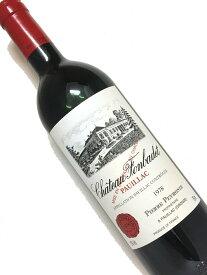 1978年 シャトー フォンバデ 750ml フランス ボルドー 赤ワイン