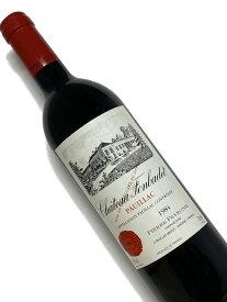 1984年 シャトー フォンバデ 750ml フランス ボルドー 赤ワイン