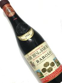 1965年 マルケージ ディ バローロ バローロ 750ml イタリア ピエモンテ 赤ワイン