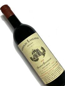1979年 シャトー ラネッサン 750ml フランス ボルドー 赤ワイン