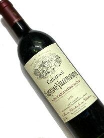 1974年 シャトー カルディナル ヴィルモーリーヌ 750ml フランス ボルドー 赤ワイン