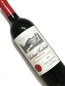 1986年 シャトー フォンバデ 750ml フランス ボルドー 赤ワイン