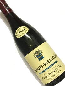 1983年 ピエール ブーレ ペルナン ヴェルジュレス 蔵出し 750ml フランス ブルゴーニュ 赤ワイン