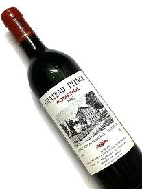 1983年 シャトー プランス 750ml フランス ボルドー 赤ワイン