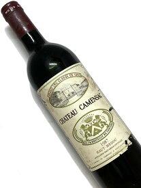 1987年 シャトー カマンサック 750ml フランス ボルドー 赤ワイン