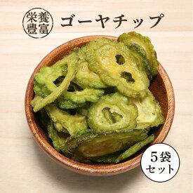 乾燥野菜 ゴーヤチップ 550g 110g×5袋 【区分A】 kp おつまみ ドライ ベトナム産 乾燥
