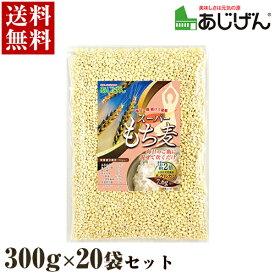 もち麦 味源 スーパーもち麦 300g×20袋セット【送料無料】【区分C】 hs [北海道・沖縄へは追加料金]