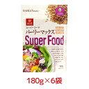はくばく スーパーフード バーリーマックス 180g 6袋 1ケース 食物繊維たっぷり【送料無料】【区分A】 hs [北海道・沖…