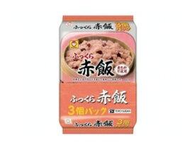 東洋水産 マルちゃん ふっくらお赤飯 160g 3個パック×8個セット【区分C】 hs