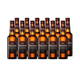 ビール スペインビール mahou マオウ・ドゥンケル 330ml 12本セット スペイン 黒ビール