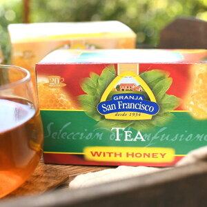 はちみつ紅茶 ティーバッグ 紅茶 はちみつ ハチミツ 蜂蜜 お土産 手土産 ギフト スペイン直輸入