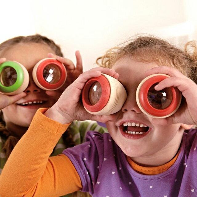 色柄おまかせ!2個で!【Hape テレイドスコープ アイ スパイ】ハペ ドイツブランド 木のおもちゃ 木製玩具 知育玩具2歳 3歳 誕生日プレゼント ギフト■あす楽