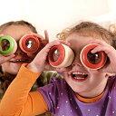 色柄おまかせ!2個で!【Hape テレイドスコープ アイ スパイ】ハペ ドイツブランド 木のおもちゃ 木製玩具 知育玩具2…