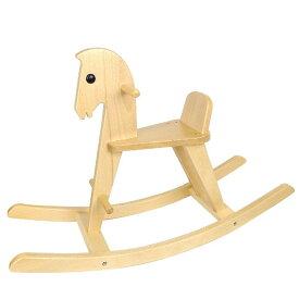【コイデ 白木の木馬 お取り寄せ商品】KOIDE東京 日本製 木製玩具 木の乗用玩具 1歳 ギフト